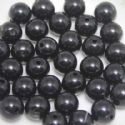 Beads, Acrylic, black, Spherical, Diameter 10mm, NA, 25 Beads, (SLZ0087)